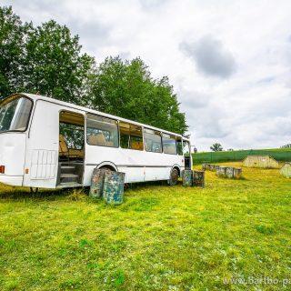 Bus na polu paintball'owym w Olsztynie_3